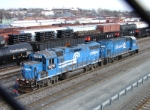 NS 5276 and CSX 1554